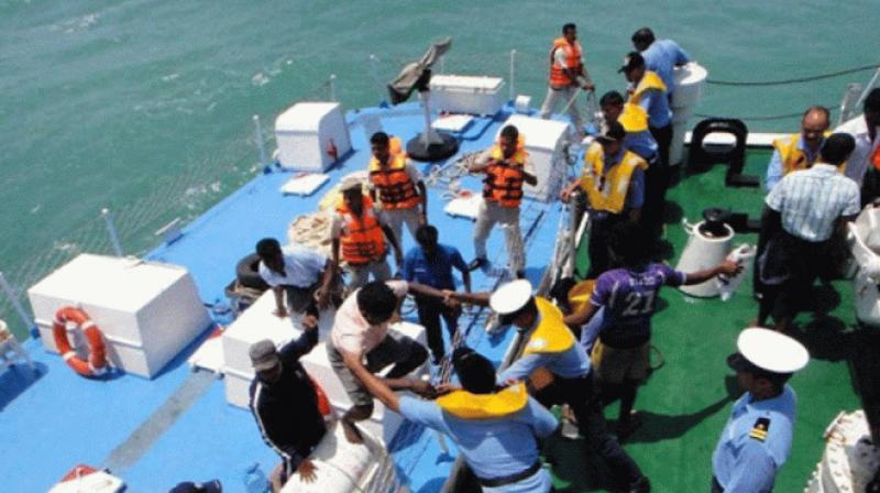 8 TN fishermen arrested by Lankan Navy