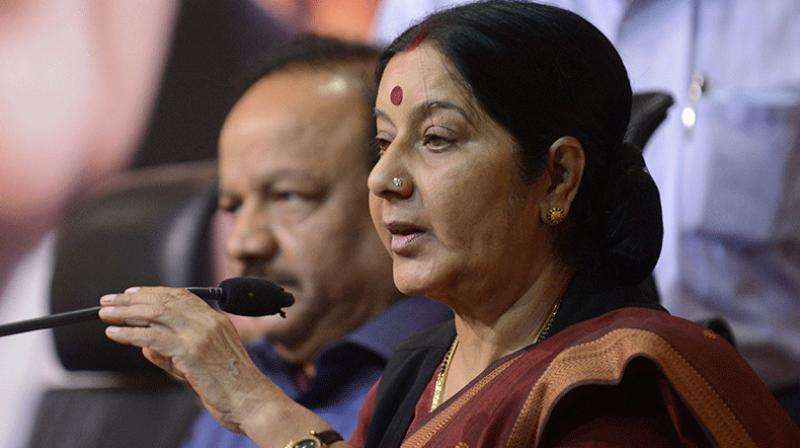 Minister for External Affairs Sushma Swaraj