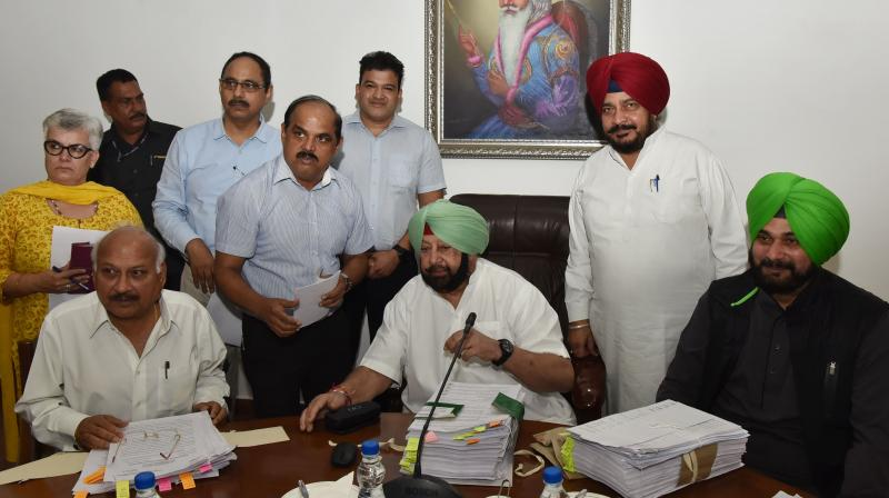 Captain Amarinder Singh on Thursday launched the iOS version of iHaryali