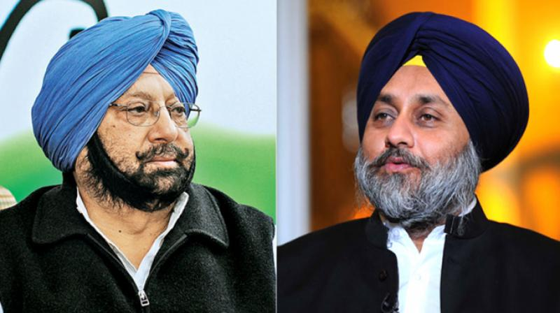 Amarinder Singh to Sukhbir Badal