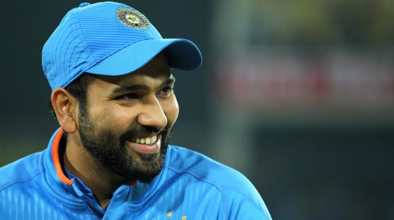 Stand-in captain Rohit Sharma