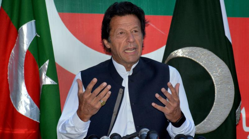 Pakistan's Prime Minister-in-waiting Imran Khan