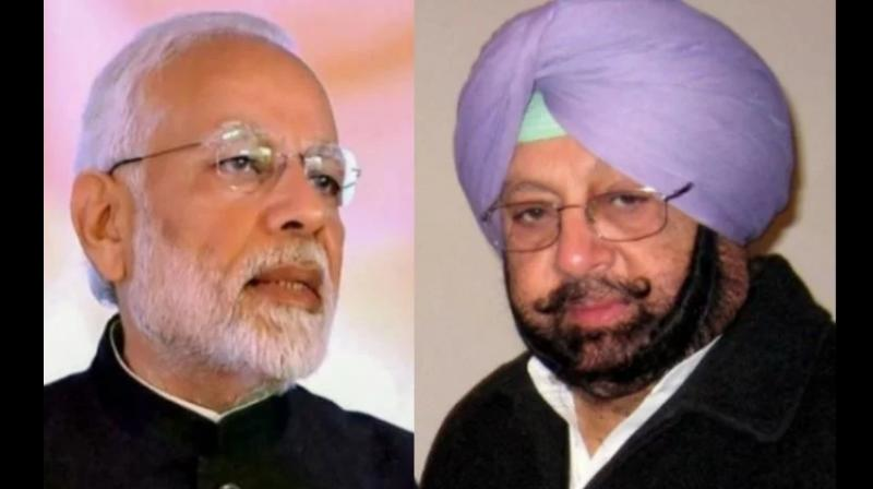 Amarinder writes to PM
