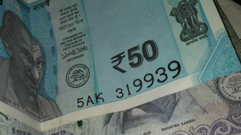 Rupee appreciated by 15 paise