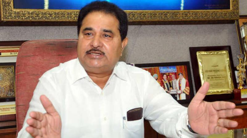 Punjab Education Minister O.P. Soni