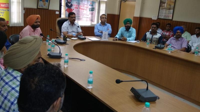Meetings were held in Faridkot, Sangrur under Additional Deputy Commissioners