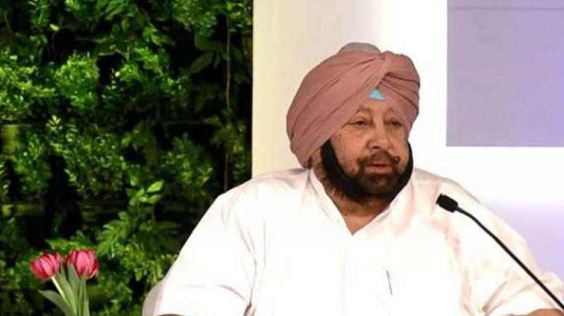 Punjab Chief Minister Captain Amarinder