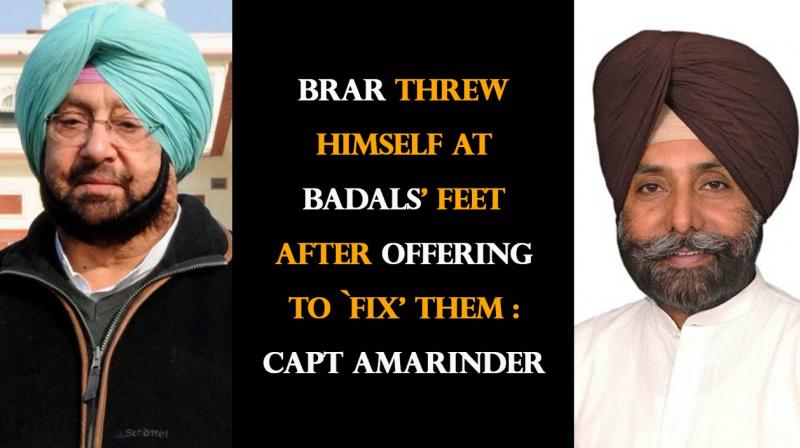 Brar Threw Himself At Badals'