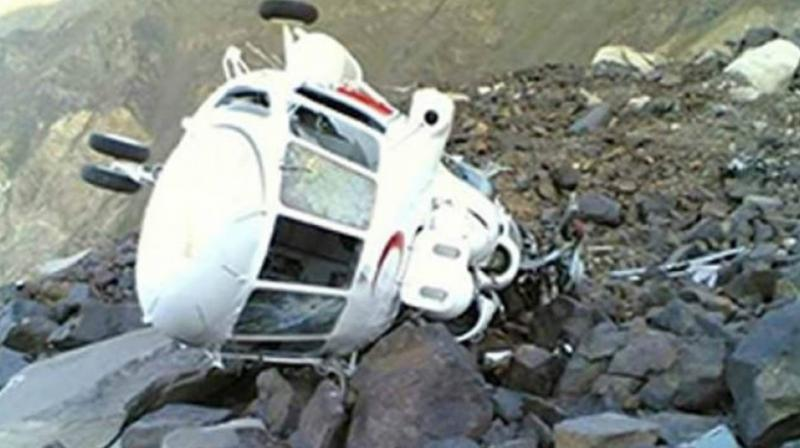 Helicopter crashes in northern Afghanistan