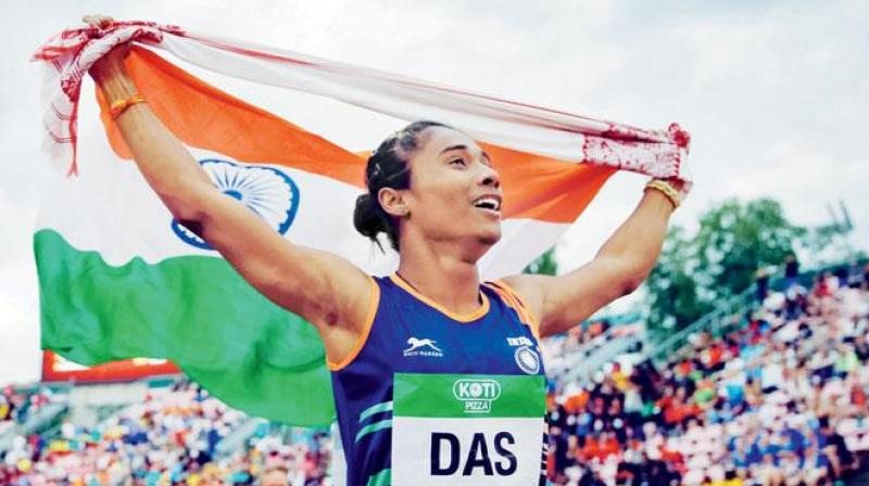 World champion sprinter Hima Das