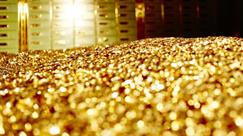 Gold prices softened by 0.09 per cent to Rs 29,640 per 10 grams