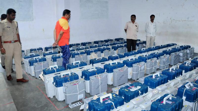 Counting of votes has begun for Jayanagar Assembly constituency