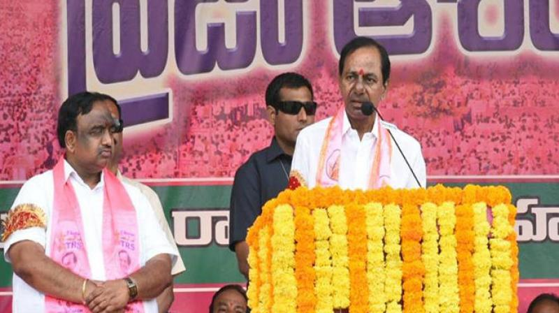 KCR Sounds Poll Bugle With A Clarion Call To Repose Trust