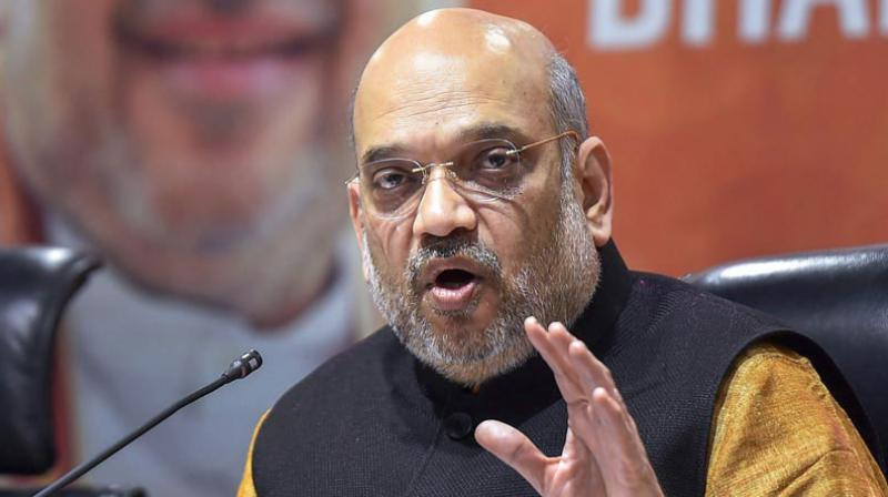 Amit Shah inaugurated the meeting of its national office bearers