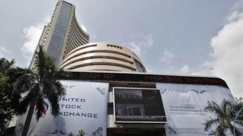 30-share Sensex was trading 3.66 points