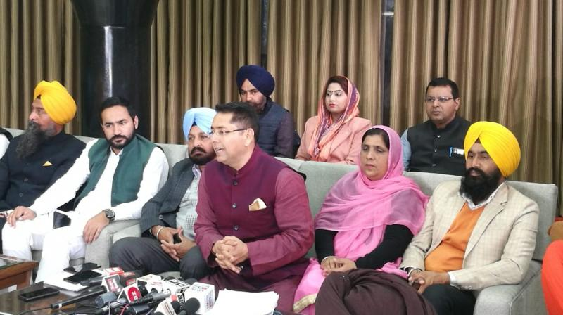 Aman Arora accused the Badals of entering in agreement with three private companies