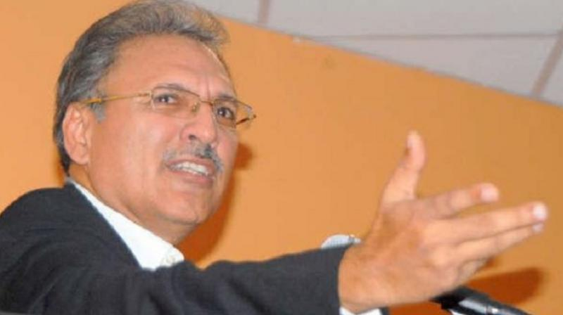 Arif Alvi is expected to win