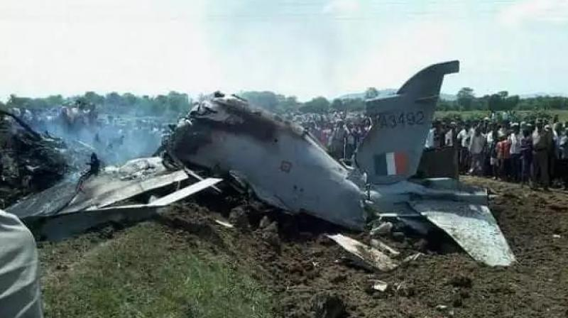 IAF jet crashed in Budgam district