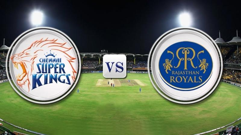 All eyes on the pitch as CSK take on Rajasthan Royals