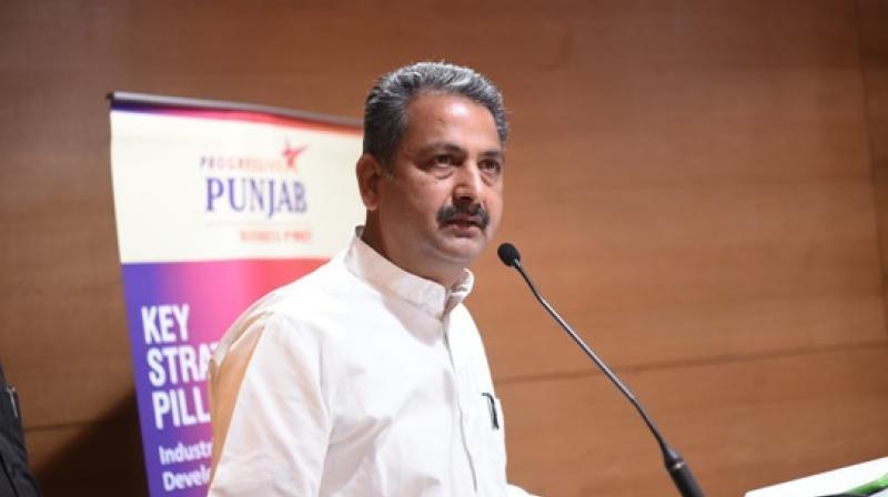 Vijay Inder Singla PWD Minister Punjab