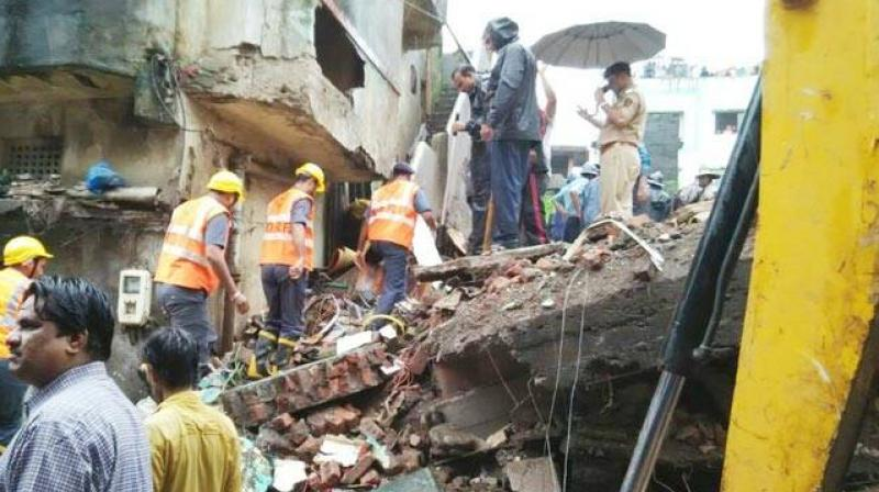 Building collapses in Bhiwandi
