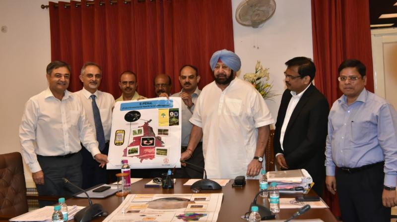Capt Amarinder Launches 3 Mobile Apps To Combat & Create Awareness