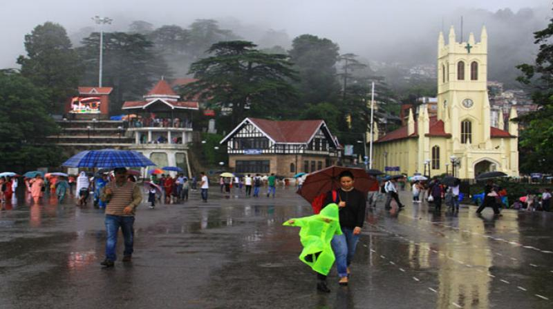 Monsoon has reactivated in several parts of Himachal Pradesh
