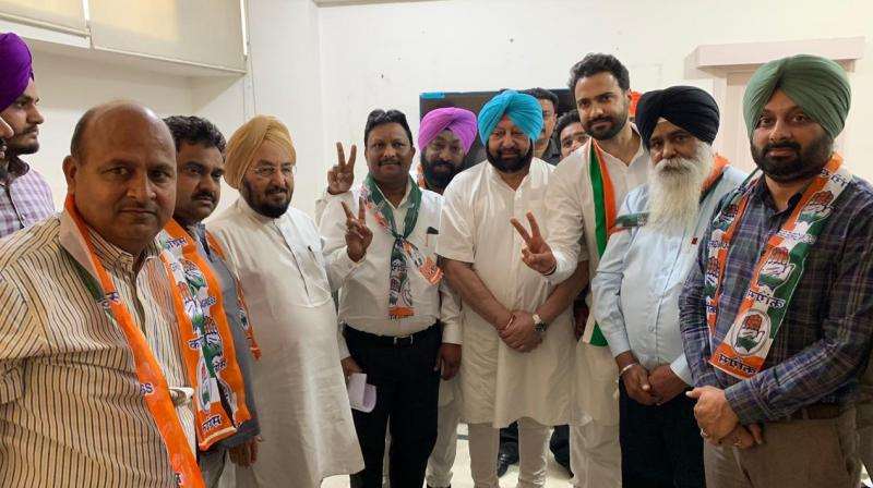 Ex-Sad Mla & Several Former Bsp Leaders From Banga Also Join Congress