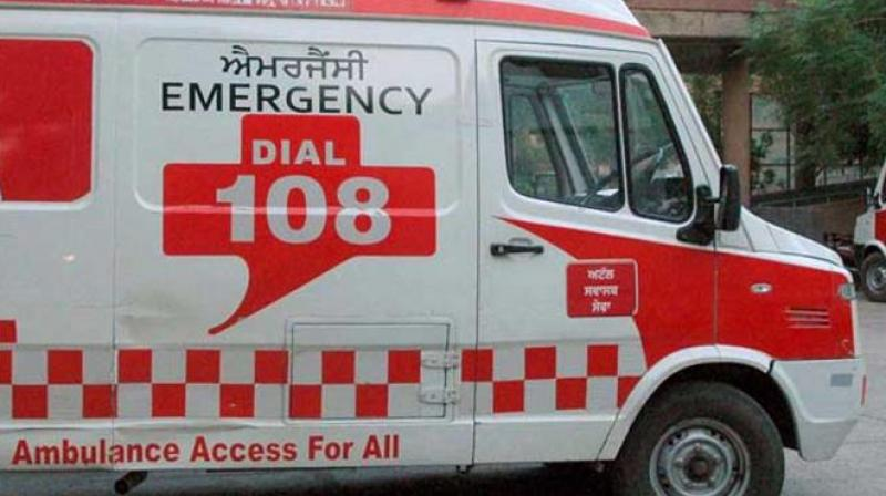 Punjab Vigilance Bureau officials conducting surprise checking of 108 ambulance services in the state