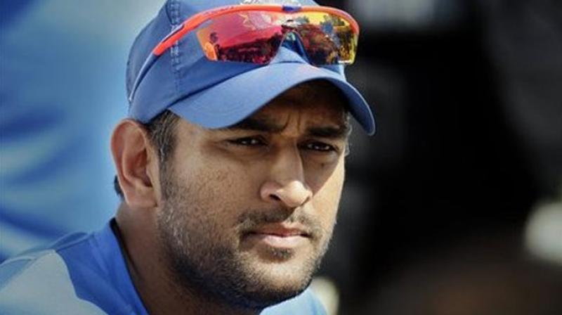 Cricketer Mahendra Singh Dhoni