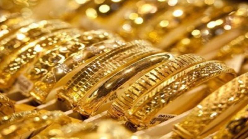 Gold rallied by Rs 110 to Rs 31,510 per ten gram