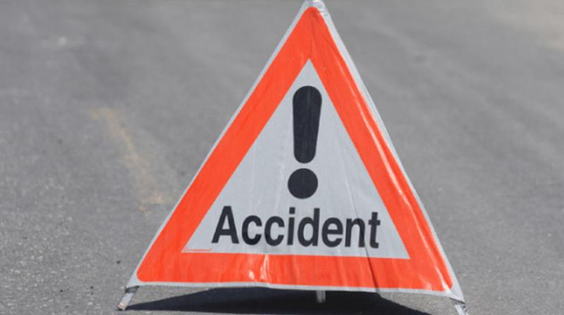 Woman dies; husband injured in accident