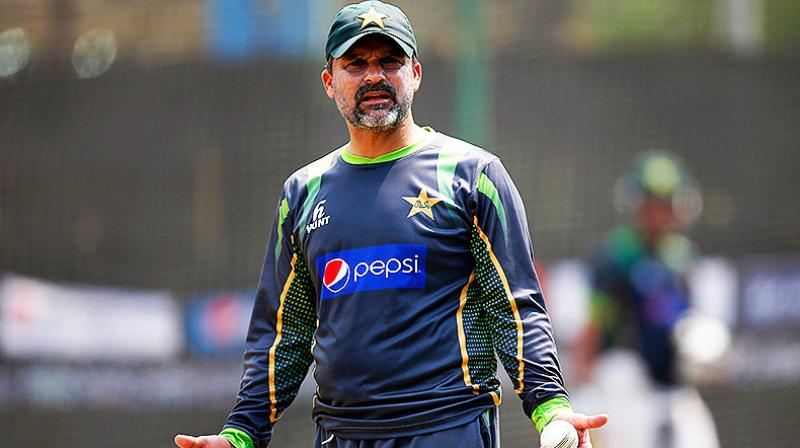 Former Pakistan captain Moin Khan