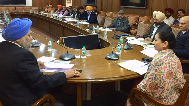Transport Minister presides over meeting of Punjab State Road Safety Council