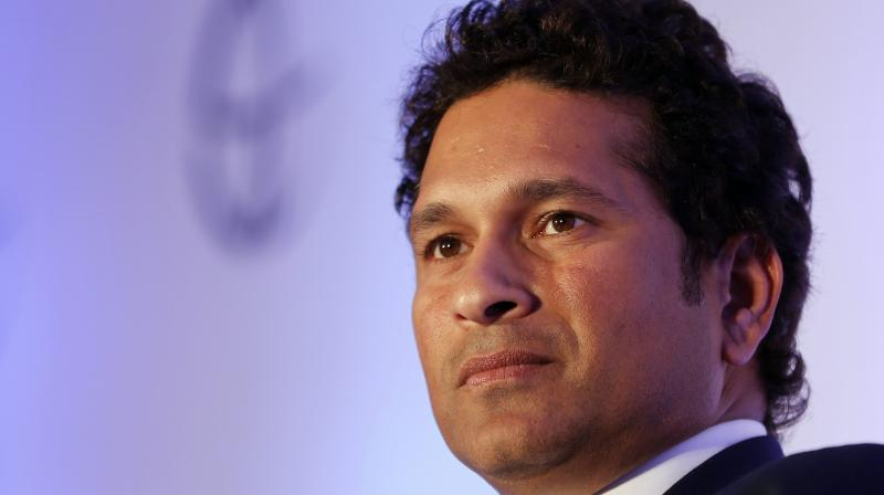 Indian cricket icon Sachin Tendulkar