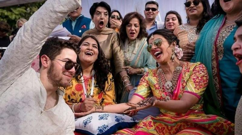Priyanka Chopra and Nick Jonas got married in a lavish, Hindu ceremony