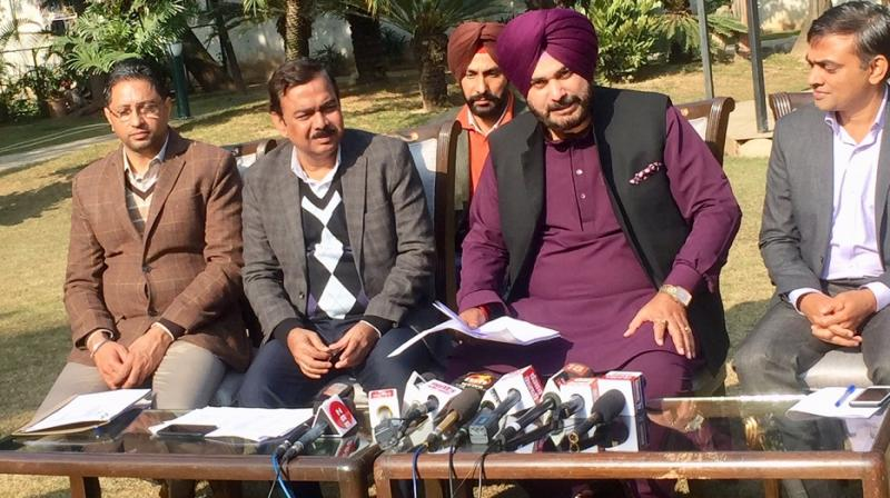 Press Conference of Navjot Singh Sidhu