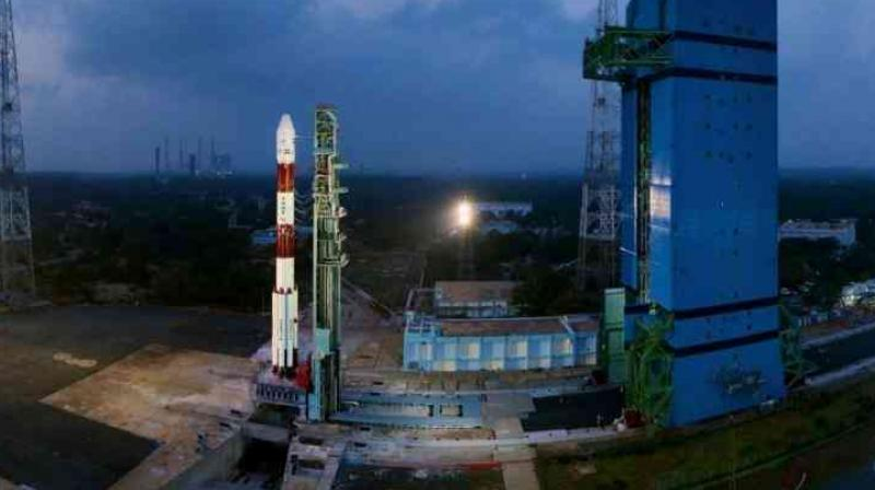 Countdown begins for PSLV-C45 mission