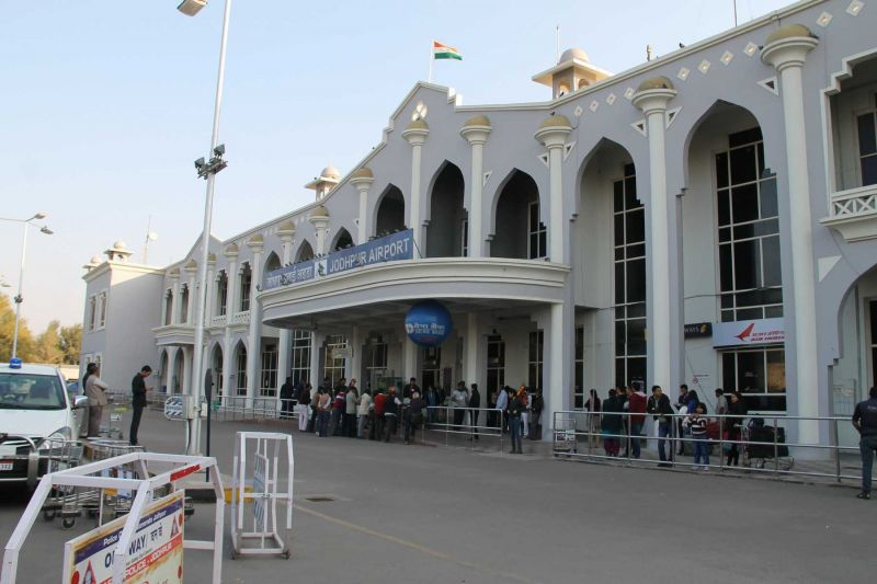 Air traffic at the Jodhpur Civil Airport was affected