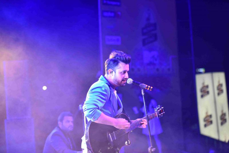 Atif Aslam faces backlash for singing Indian song in US