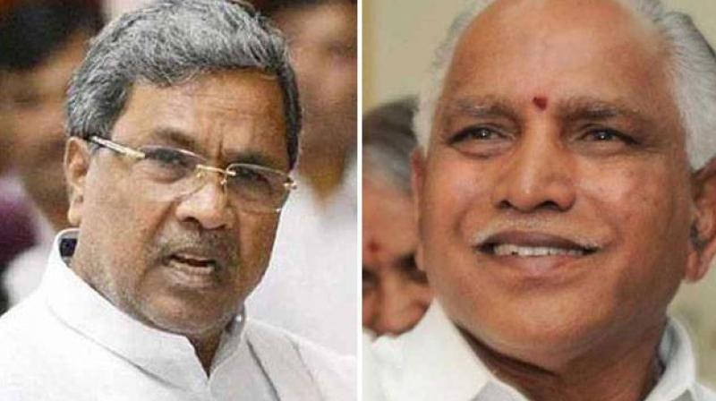 BJP falls short of majority,Cong-JD(S) join hands
