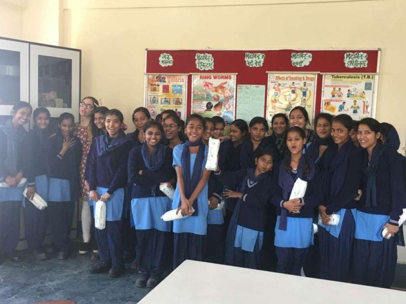Project Sashakt workshop with school girls