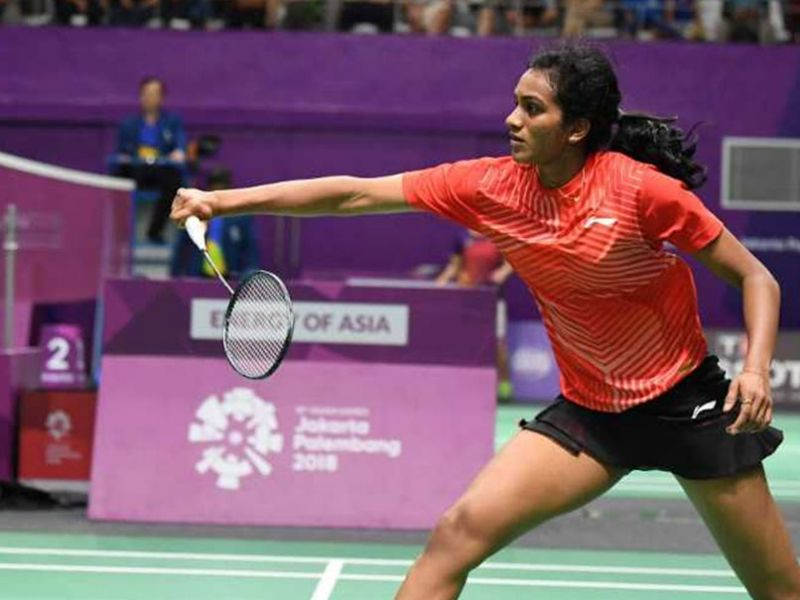 Sindhu tried to push her back to the baseline in the second game