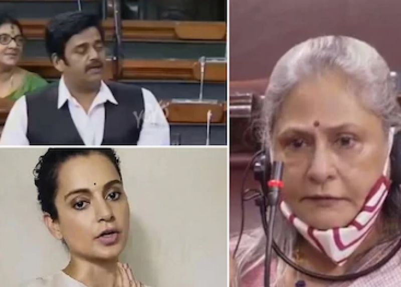 Jaya, Ravi and Kangana