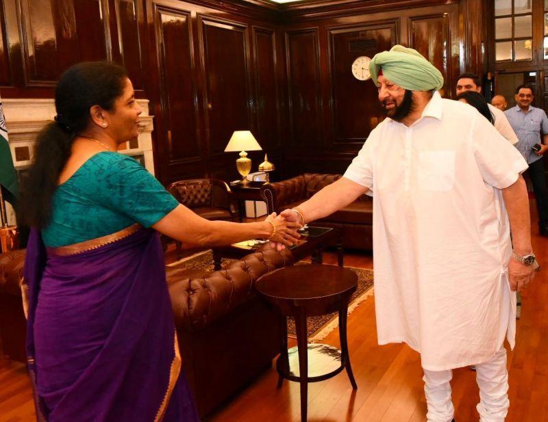 FM with Punjab CM