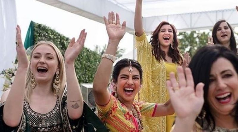Priyanka and Nick had traditional mehendi and sangeet functions