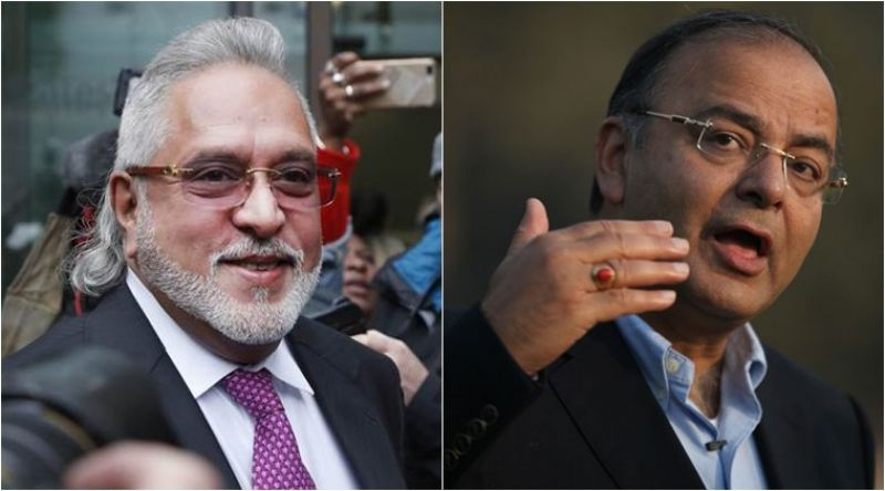 Jaitley rubbishes Mallya's claims of meeting him