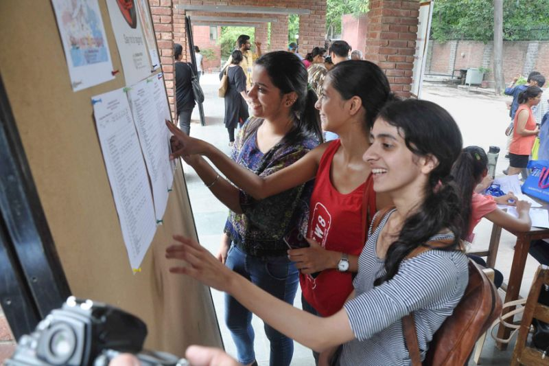 Delhi University announced its fourth cut-off list