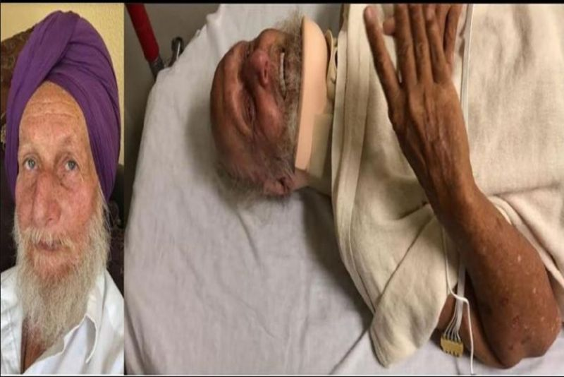 Sahib Singh was assaulted and had his turban ripped off his head