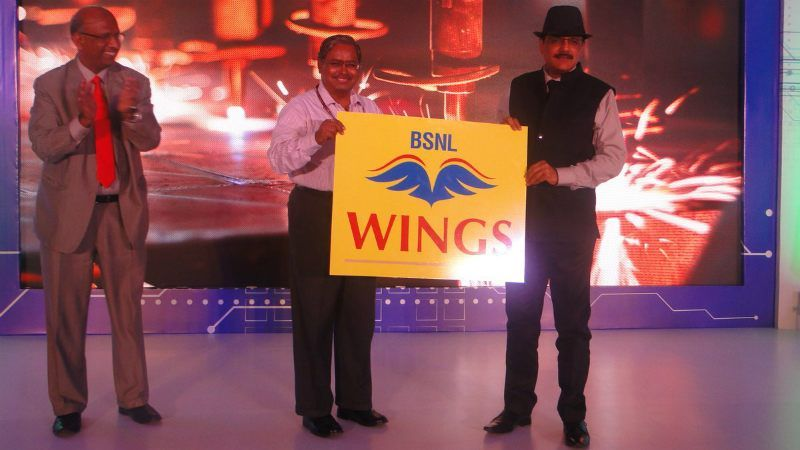 BSNL Unveils 'Wings' Internet Telephony Service